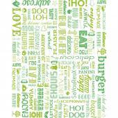 Упаковочная бумага Parole зелёная, 28*34 см, 1000 шт/уп