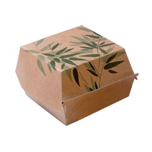 Коробка Feel Green для бургера, 12*12*5 см, 50 шт/уп