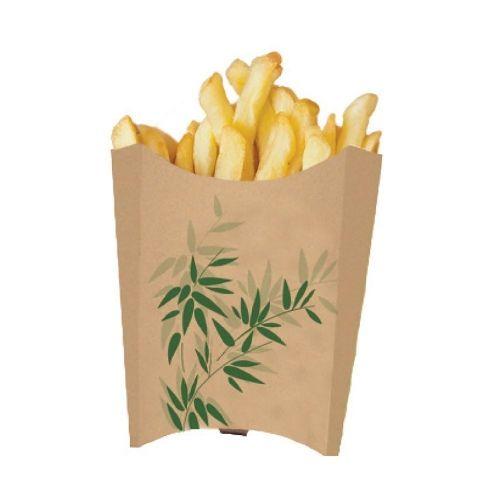 Контейнер Feel Green вертикальный для картофеля фри, 135 гр, 200 шт/уп