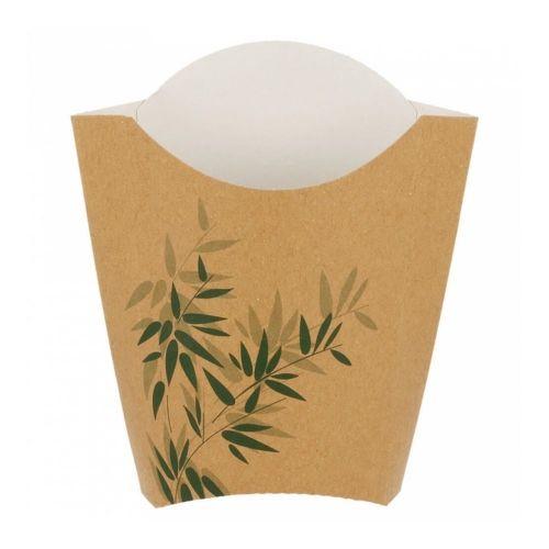 Контейнер Feel Green вертикальный для картофеля фри, 165 гр, 200 шт/уп