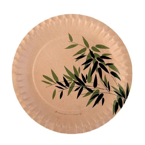 Тарелка Feel Green 18 см, 100 шт