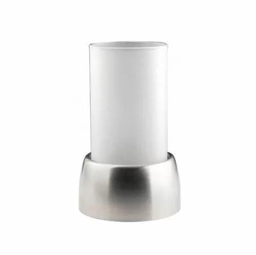 Подсвечник металлический со стеклянной колбой для чайной свечи, P.L. - REG