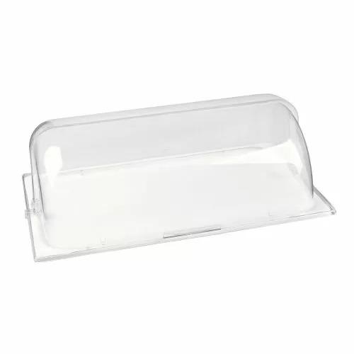 Поднос фарфоровый с пластиковой крышкой GN1/1, P.L. Proff Cuisine