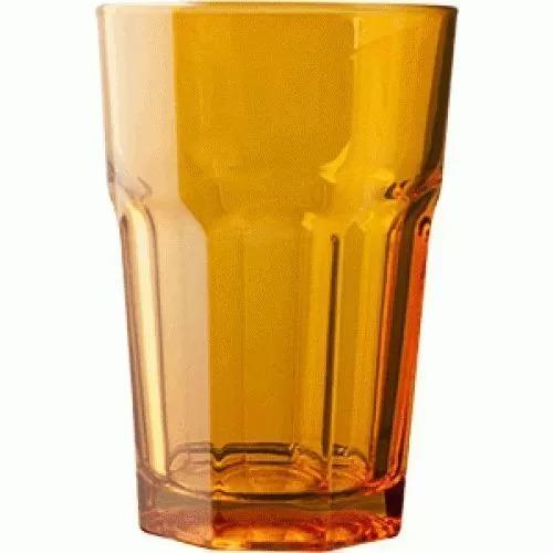 Стакан Хайбол Pasabahce Enjoy 350 мл, 8,3*12,2 см, оранжевый, стекло
