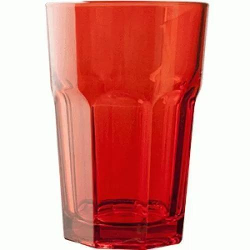 Стакан Хайбол Pasabahce Enjoy 350 мл, 8,3*12,2 см, красный, стекло