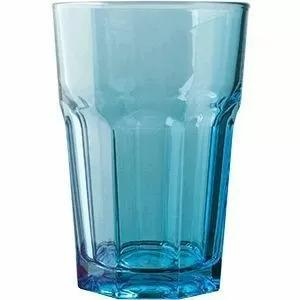 Стакан Хайбол Pasabahce Enjoy 350 мл, 8,3*12,2 см, синий, стекло