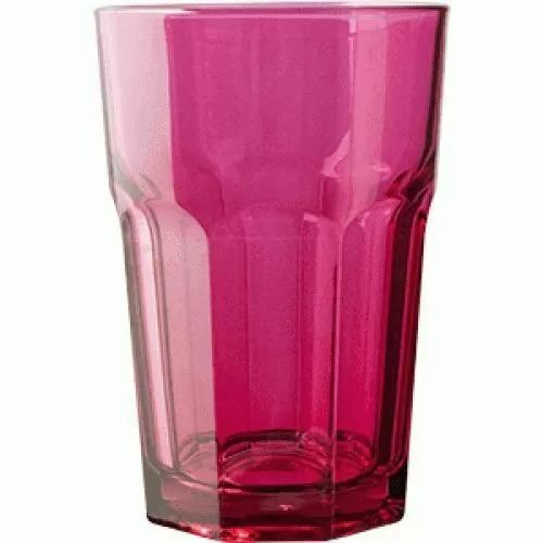 Стакан Хайбол Pasabahce Enjoy 350 мл, 8,3*12,2 см, фуксия, стекло