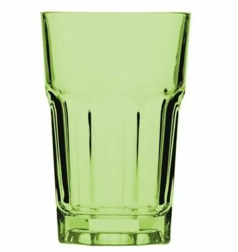 Стакан Хайбол Pasabahce Enjoy 350 мл, 8,3*12,2 см, зеленый, стекло