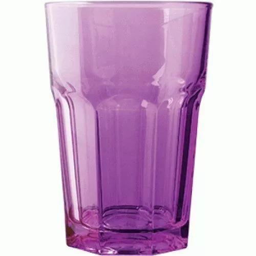 Стакан Хайбол Pasabahce Enjoy 350 мл, 8,3*12,2 см, фиолетовый, стекло