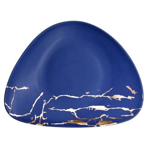 Тарелка Blue Gold 35*28 см