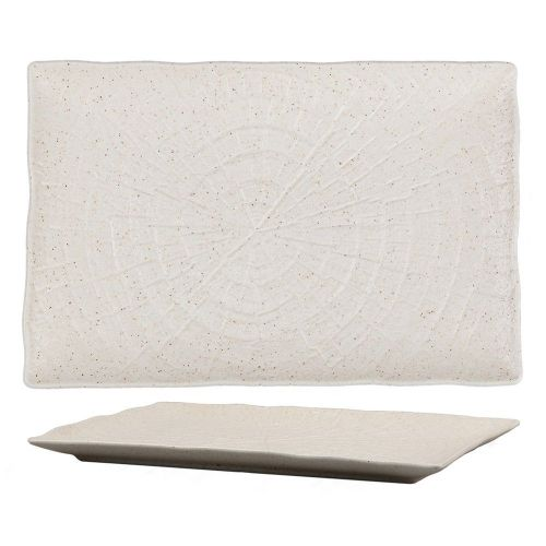 Блюдо прямоугольное для подачи Elephant Ivory 23,5*15,5 см