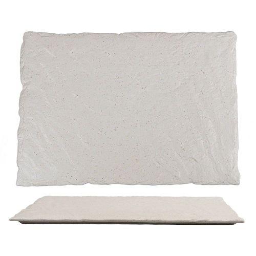 Блюдо прямоугольное для подачи Elephant Ivory 34*24*1 см