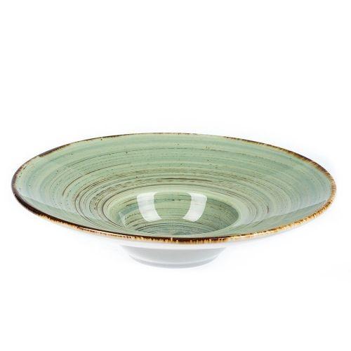Тарелка для пасты/супа/салата Fusion Blue Lake 23 см, 100 мл