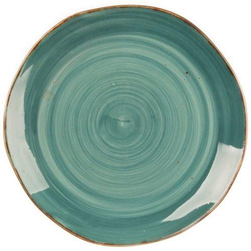 Тарелка Fusion Green Sea 25,5 см