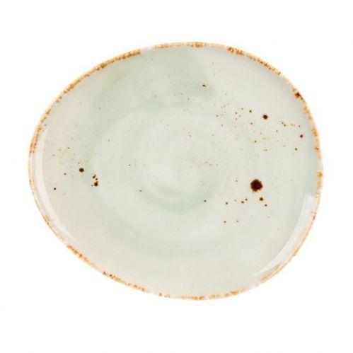 Тарелка Organica Green 22,5*19,5 см