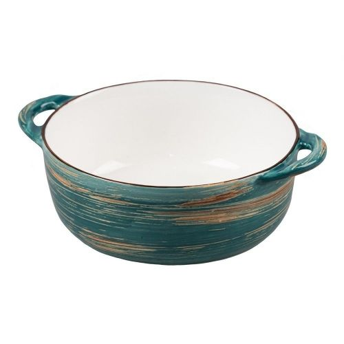 Чашка для супа Texture Dark Green Lines 550 мл