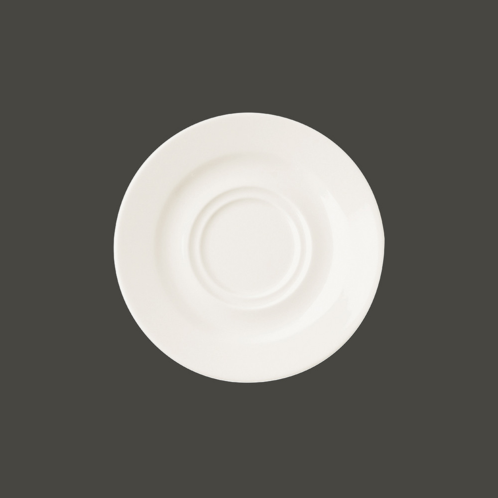 Блюдце круг. d=17  см., для бульонниц и чашек BACU28,BANC28, фарфор,