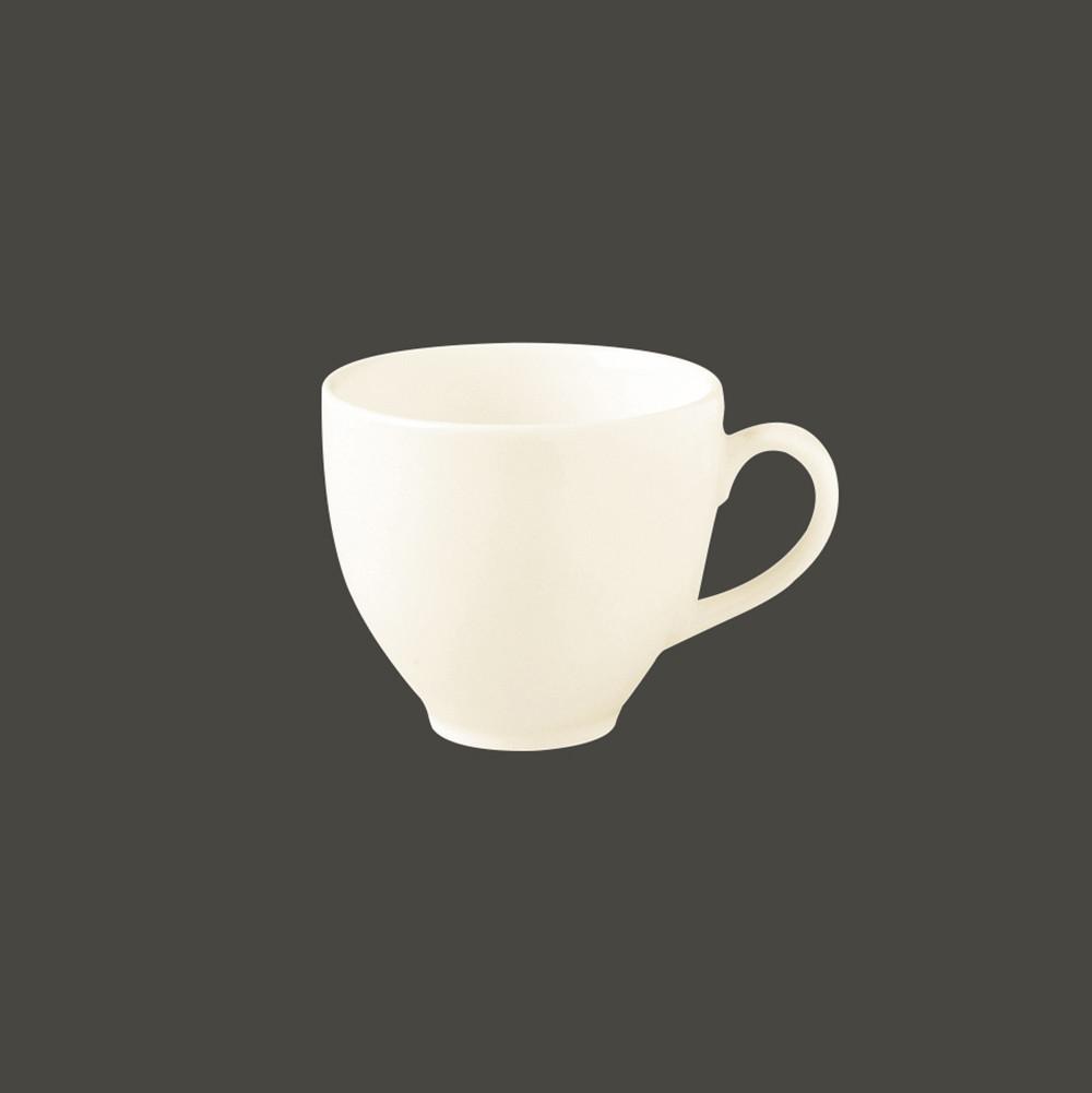 Чашка круглая не штабелируемая 9 cl., фарфор