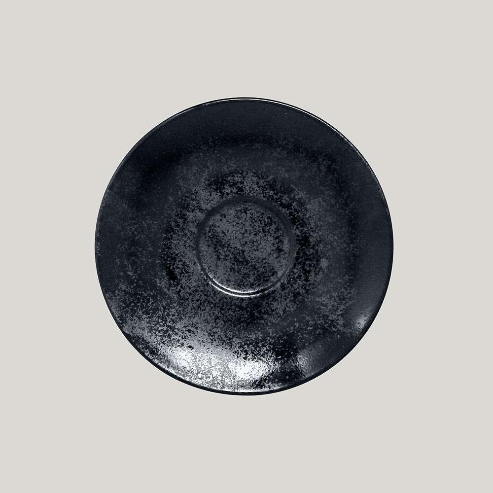 Блюдце круглое d=17 см., для чашки арт.KR116CU23 и KR116CU20, фарфор