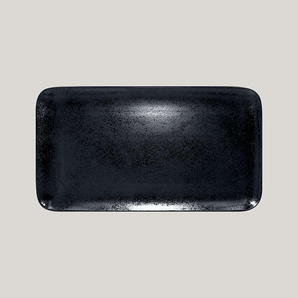 Тарелка прямоугольная 38х21 см., плоская, фарфор