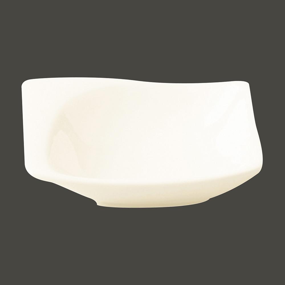 Салатник квадратный 8х7.5 см., 3 cl., фарфор