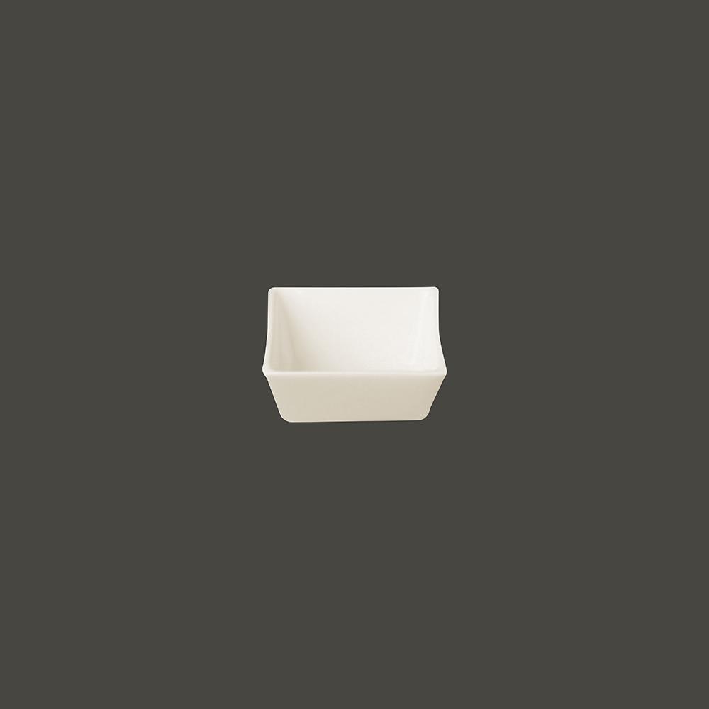 Салатник квадрат. 6x3см., 6 cl., фарфор