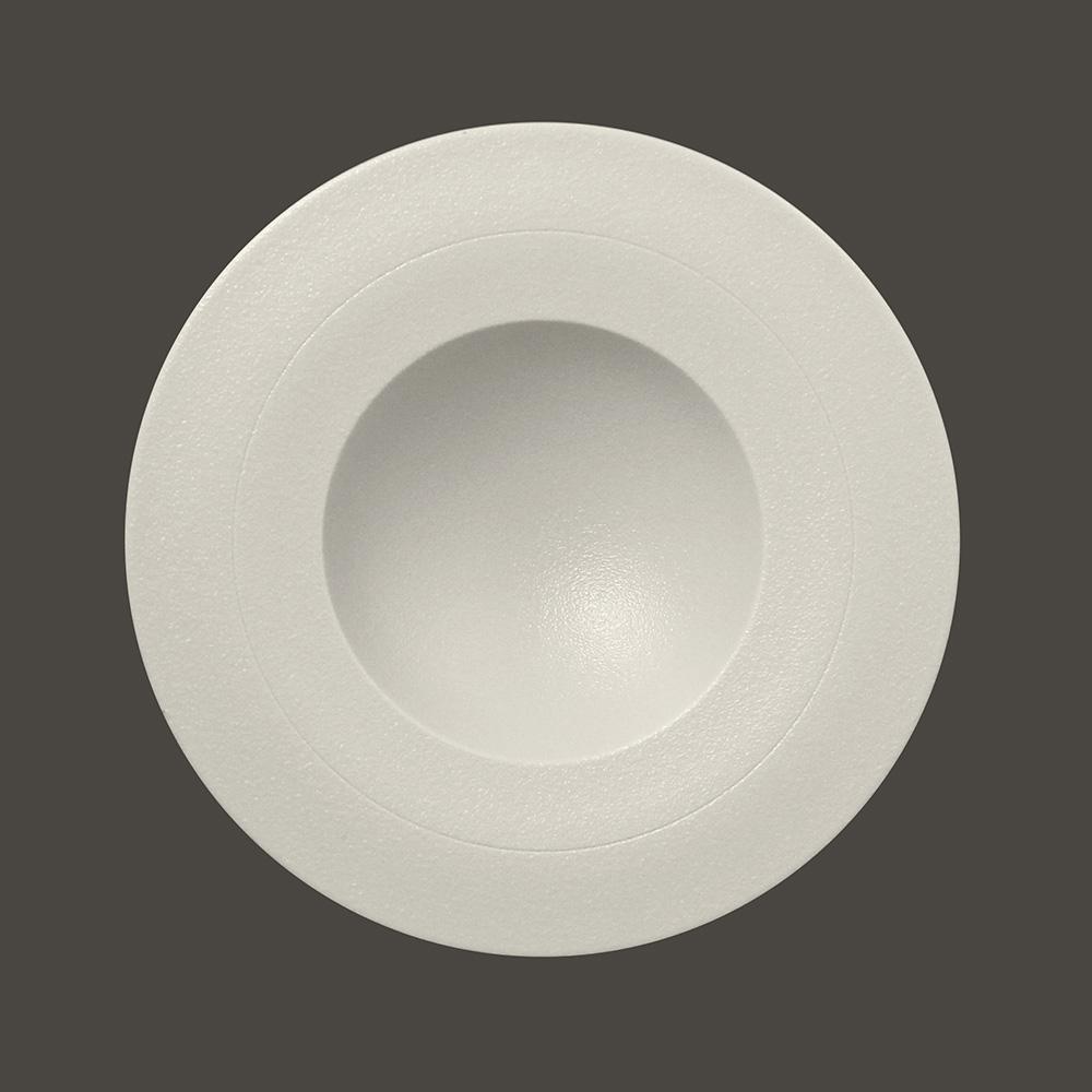 Тарелка круг. d=29 см., глубокая, (белый цвет)
