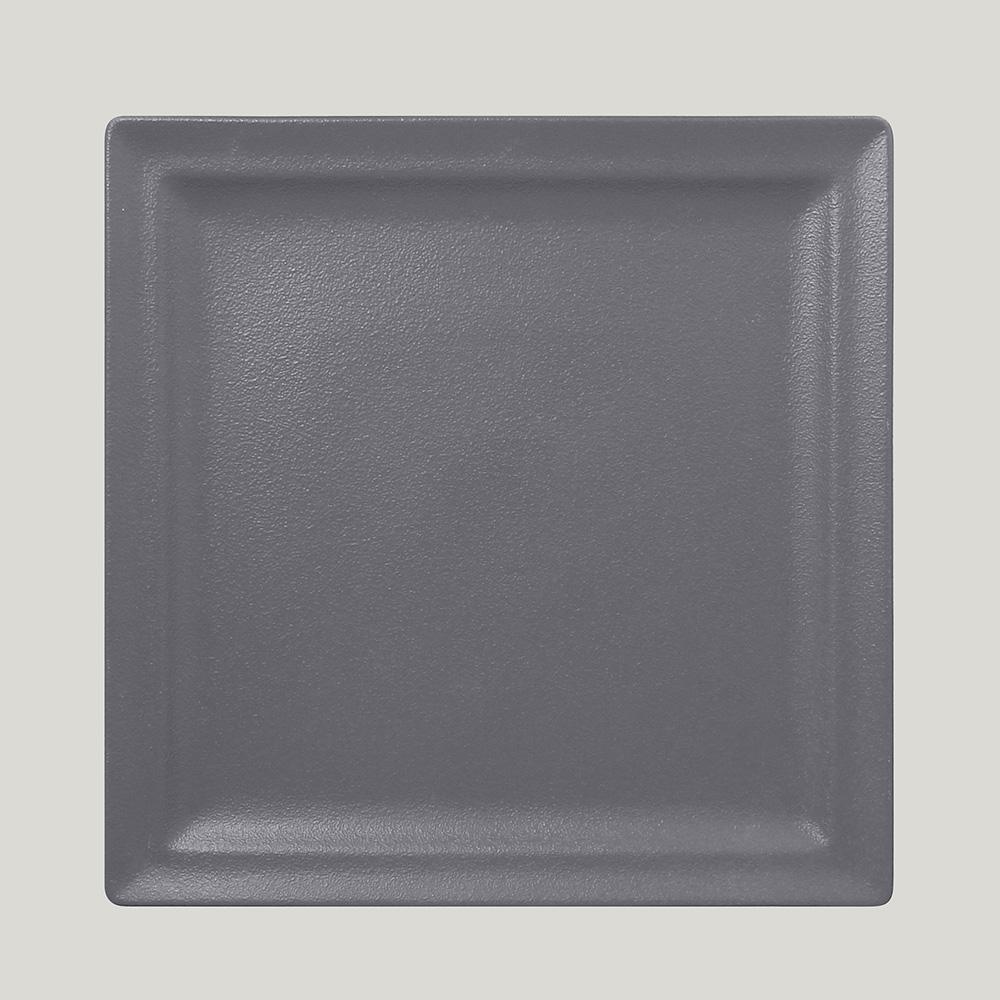 Тарелка квадратная 30 см., плоская