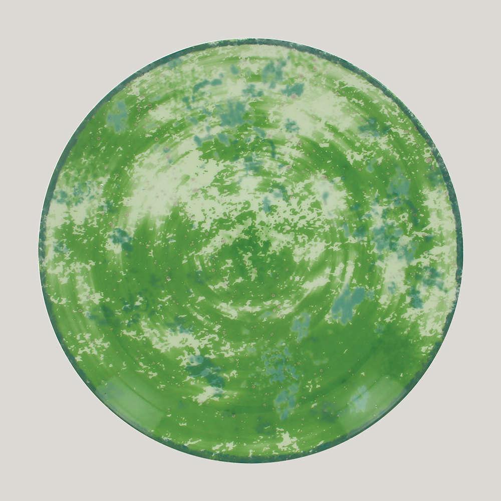 Тарелка круглая d=18 см., плоская, фарфор