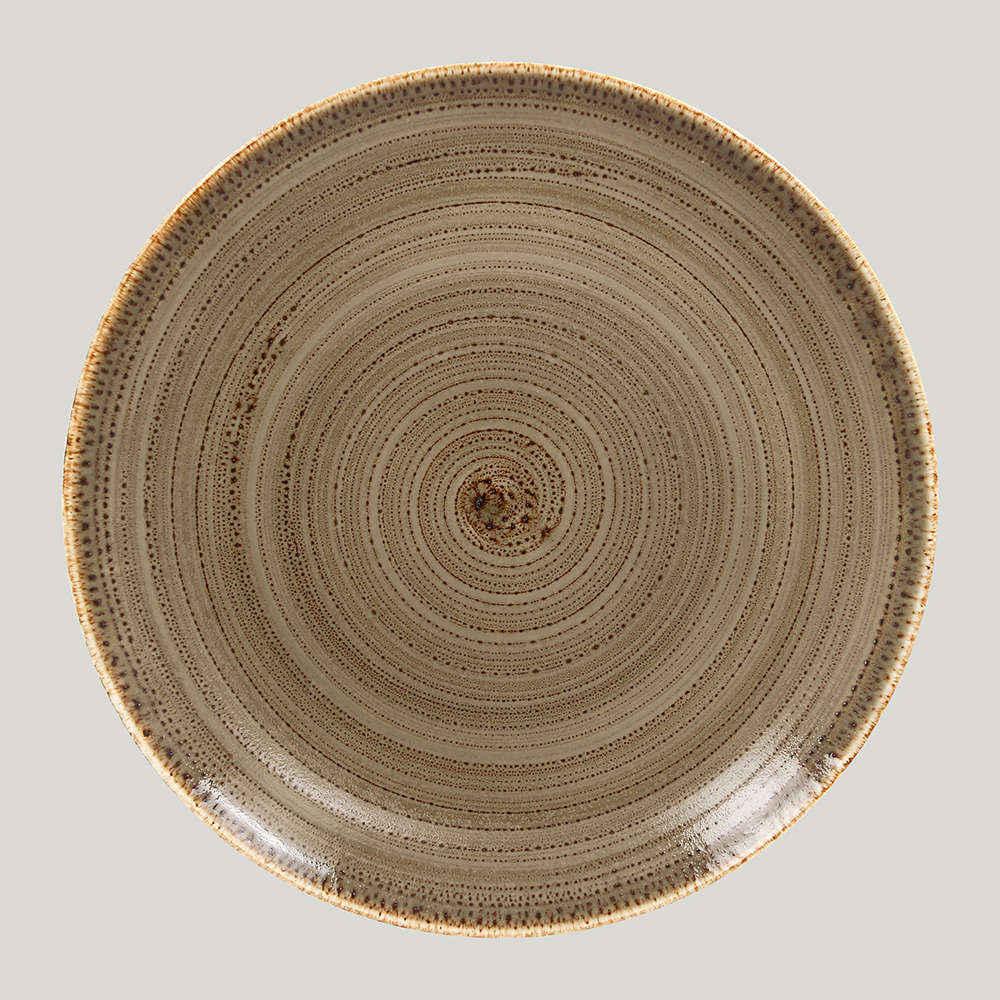 Тарелка плоская 21 см. - alga Twirl  RAK