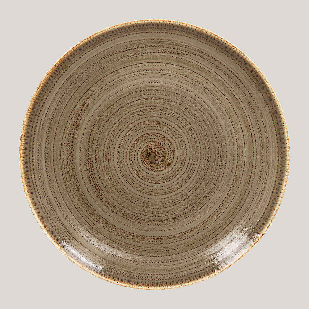 Тарелка плоская 15 см. - alga Twirl  RAK