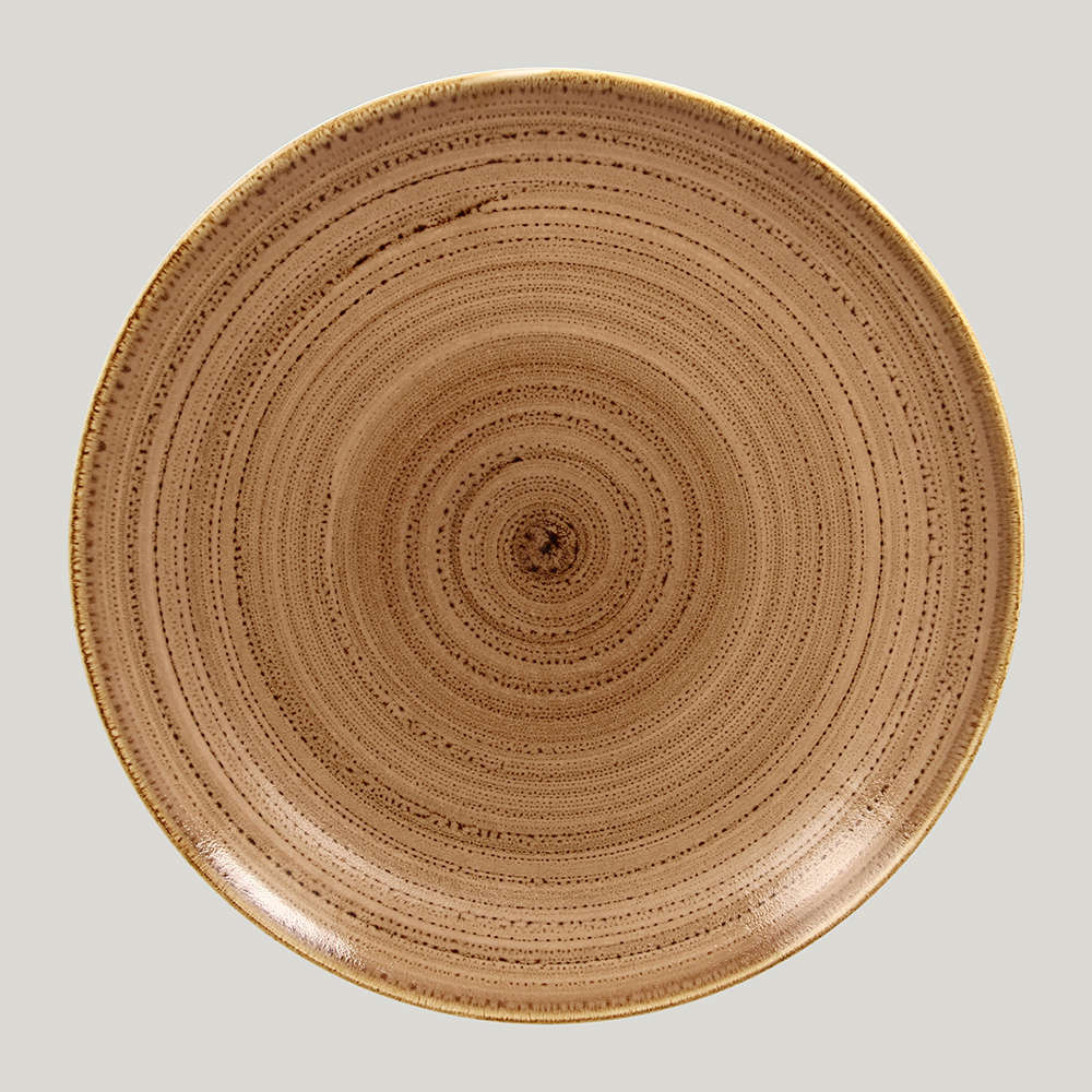 Тарелка плоская 31 см. - shell Twirl RAK