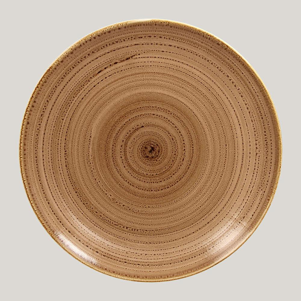 Тарелка плоская 24 см. - shell Twirl RAK
