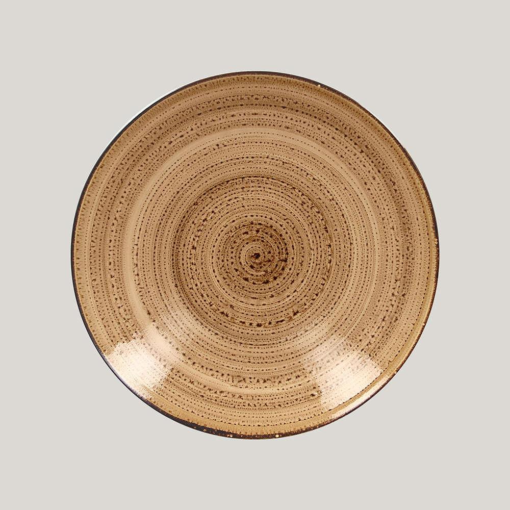 Тарелка глубокая 28 см. - shell Twirl RAK